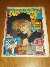 RECORD MIRROR APRIL 16 1983 DAVID BOWIE BELLE STARS CULTURE CLUB THOMPSON TWINS