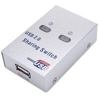 Usb2.0 Printer Sha Device Splitter Auto Sha Switch Automatic Switching Sha V7B1