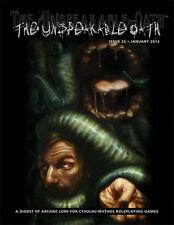 Call of Cthulhu RPG: The Unspeakable Oath #22 magazine New