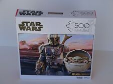 Star Wars Mandalorian with child 500 piece puzzle- Buffalo games and puzzles