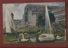 Mable Davis, Darsham, Saxmundham, 1907 Crystal Palace Fountains postcard  ca178