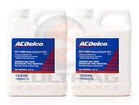 Genuine GM ACDelco DOT 4 Brake & Clutch Fluid 16oz 19299570 Set Of 2