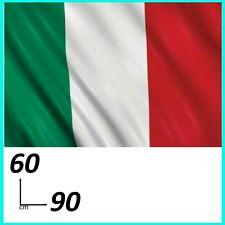 BANDIERA ITALIA ITALIANA 60X90 CM PER ASTA TRICOLORE GRANDE ITALY IT NAZIONALE
