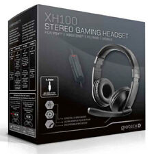 Wired Stereo Gaming Chat Headset BLACK (PS4, Xbox One, PC) Gioteck XH100