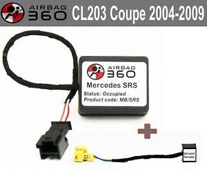 Mercedes SRS CL 203 COUPE 04-08  Passenger Seat Mat Occupancy sensor emulator