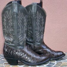 Tony Lama, Smooth American Alligator Belly Skin Cowgirl Boots, Size (6 1/2 M)