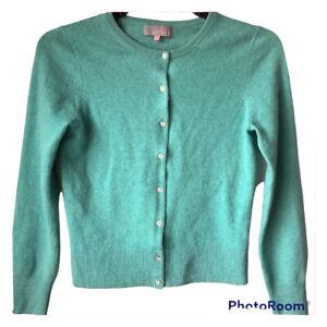 🌺John Lewis Women Pure Cashmere Cardigan Size 8🌸