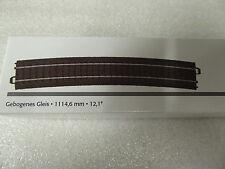 Märklin H0 24912 C-Gleis gebogen Radius 1114,6 mm / 12,1°  Neuware