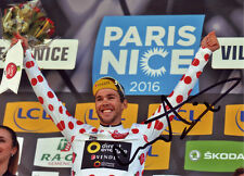 Antoine Duchesne Signed 8X12 inches 2016 Paris - Nice Direct Energie Photo