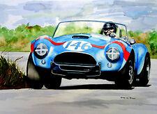 "Dan Gurney   Cobra   A2   24""x18""   Print"