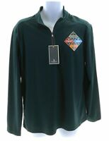 G.H. Bass & Co Mens Pacific Heather Green Pullover Size Medium MSRP $65