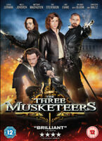 The Three Musketeers DVD (2012) Juno Temple, Anderson (DIR) cert 12 ***NEW***