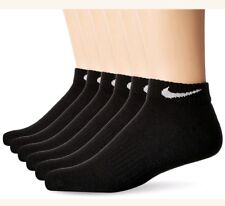 Nike 6-Pair Pack Low Cut Performance Cotton Cushion Socks Large 8-12 SX5173-010