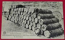 CPA GUERRE 14-18 1915 OBUS ALLEMANDS ABANDONNES POILUS ARMEE MILITARIA TRANCHEES