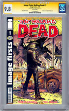 WALKING DEAD #1 CGC-SS 9.8 SIGNED ROBERT KIRKMAN IMAGE FIRSTS REPRINT SDCC 2012