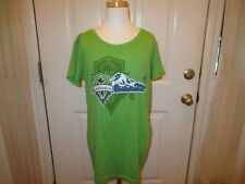 Brand New w/Tag Women's Size Large Green Adidas Seattle Sounders FC Soccer Shirt