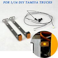 LED LESU Seitenmarkierungsleuchte Set für 1/14 RC DIY TAMIYA Sattelzuganhänger