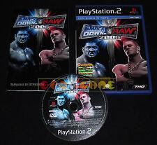 WWE SMACKDOWN VS RAW 2006 Ps2 Versione Italiana 1ª Edizione ••••• COMPLETO