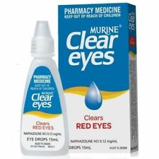 Murine Clear Eyes gouttes oculaires pour les yeux rouges , 100% efficaces !