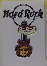 Hard Rock Cafe Pin Gay Days Event Guitar (Silver Version) Las Vegas 2013 LE300