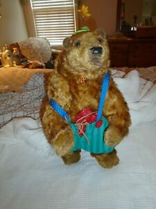 "VERY RARE MARCELLO LIMITED 1 OF ONLY 2 CAUDI TAYLOR MOHAIR BEAR APPROX. 20"" TO T"