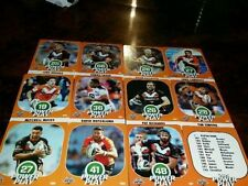 Wests Tigers Team Set 2015 Rugby League (NRL) Trading Cards