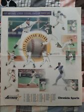 1997 Central Division Champion Houston Astros Houston Chronicle Poster