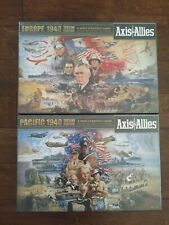 NEW Axis & Allies Europe 1940 + Pacific 1940 bundle Board Games FACTORY SEALED