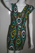 BNWT Boom Shankar Green Hues Rio Dress Size 12