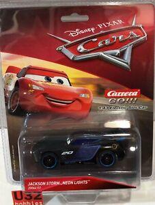 Carrera Go 64151 JACKSON Storm Neon Lights Disney Pixar Cars