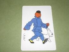 tintin en costume  chinois carte téléphonique  (phone card) le lotus bleu :