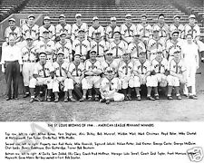 1944 ST LOUIS BROWNS AMERICAN LEAGUE CHAMPIONS WORLD SERIES TEAM 8X10 PHOTO