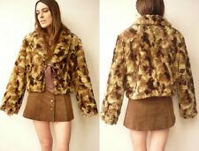 Grunge Faux Fur Vintage Coats & Jackets for Women
