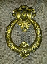 heurtoir de porte ancien complet - vintage french door knocker
