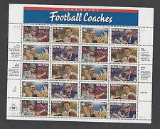 Football Coaches Sheets: 3143-3150 - Five Sheets