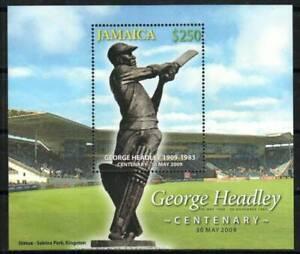 Jamaica Stamp - George Headley, cricket player Stamp - NH