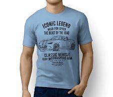 RH 2016 Mazda MX-5 Roadster illustration Motorsports Car Art T-Shirt