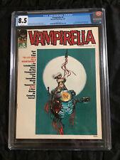 1970 VAMPIRELLA #3 CGC 8.5 WHITE Pages Vaughn Bode, Larry Todd, Doug Moench