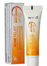 JF Acne Relief Sulfur Spot Cream 10g Helps in Exfoliating Dead Skin Cells (NEW)