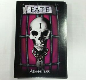 Atmosfear DVD Game Replacement Fate Cards Complete Deck 2003 Pressman Parts