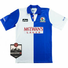 Maglia Blackburn Rovers 1994-1995 - Calcio Vintage Retro Shearer Shirt Jersey