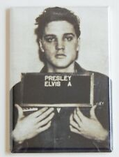 Elvis Presley Mug Shot Fridge Magnet