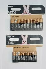 SIMPLY DURACELL BATTERY AA + AAA 10