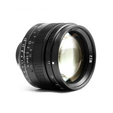 Instock 7artisans 50mm F1.1 Manual Lens Twelve Blades for Leica M-Mount Cameras