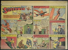SUPERMAN SUNDAY COMIC STRIP #27 May 5, 1940 2/3 FULL Page DC Comics RARE