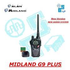 MIDLAND G9 PLUS NERA RICETRASMITTENTE PMR/LPD ALAN Nuovo Modello Dual Watch