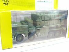 Roco Minitanks 1/87 751 Man 8x8 patriot militar embalaje original (kv5576)