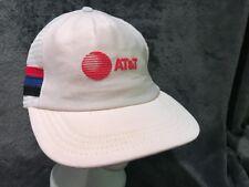 Vintage ATT Company Trucker Hat Cap Adjustable Snapback Adjustable White