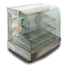 """New Mtn Commercial Large Countertop Pizza Desk Food Warmer Display - 25""""x23""""x17&#034 ;"""