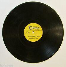 ROLANDO LASERIE / NO SE QUE TIENES / LO MISMO QUE A USTED / 78 RPM RECORD